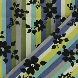 Tissu Alexander Henry A Ghastlie Stripe - multi x 10cm