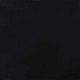 Tissu Flanelle - noir x 10cm