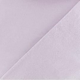 Tissu Flanelle - Eau de rose x 10cm