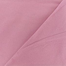 Tissu Flanelle - Bois de rose x 10cm