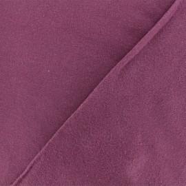 Tissu Flanelle - Figue x 10cm