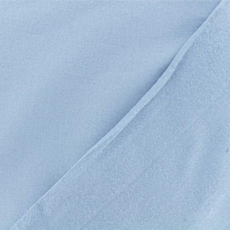 Flannel Fabric - niagara blue x 10 cm