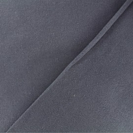 Tissu Flanelle - Gris bleu x 10cm