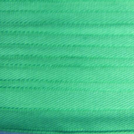 Ruban de soie vert 4 mm