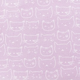 Flannel Fabric - Water Rose Chaton x 10 cm