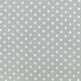Flannel Fabric - Niagara blue Little dot x 10 cm