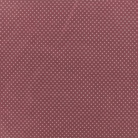 Jersey fabric - Fig Mini Pois  x 10cm