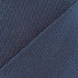 Cotton canvas fabric Delson - grey blue x 10cm