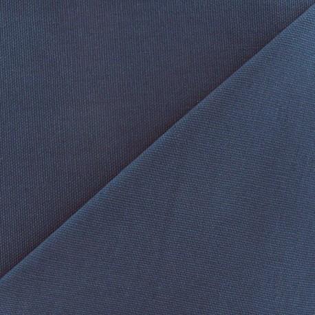 Cotton canvas fabric Delson - grey blue x 10cm