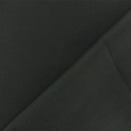 Tissu Satin Mariée - noir x 10cm