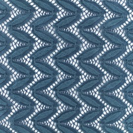 Lace Fabric Anna - Petrol x 10cm