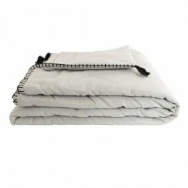 Quilted Blanket 90x190 cm - Linen Portofino