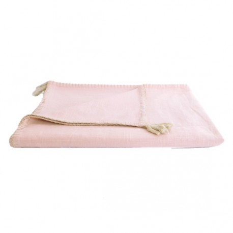 Blanket 150x170 cm - Powder Pink Portofino