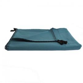 Plaid Portofino 150x170 cm - Bleu Pétrole