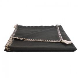Blanket 150x170 cm - Black Portofino