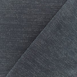 Lurex Jersey Fabric - Grey/Silver x 10cm