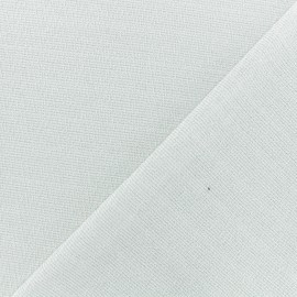 Lurex Jersey Fabric - Off-white/Silver x 10cm