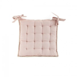 Chair Cushion 45x45 cm - Powder Pink Portofino