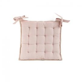 Galette de Chaise Portofino 40x40 cm - Rose Poudré