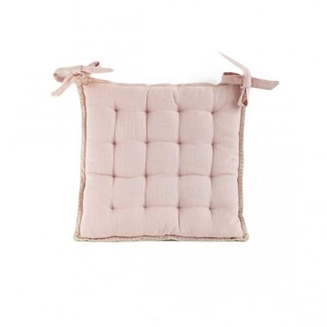 Chair Cushion 45x45 cm - Powder Pink Portofino