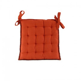 Chair Cushion 45x45 cm - Paprika Portofino
