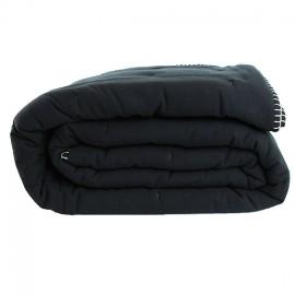 Couvre-lit + 2 taies Portofino 240x260 cm - Noir