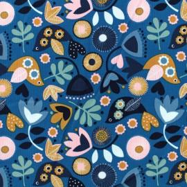 Tissu velours milleraies corduroy Dashwood - Oslo Bird  x 10cm