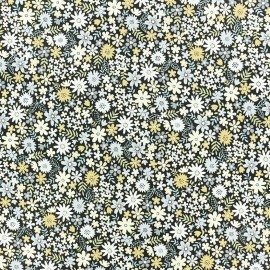 Makower UK cotton fabric - Winter Floraison x 10cm