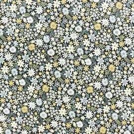 Makower UK cotton fabric - Winter Floraison x 10cm