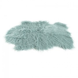 Faux Sheepskin Rug 60x90 cm - Blue
