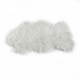 Faux Sheepskin Rug 60x90 cm - Off White