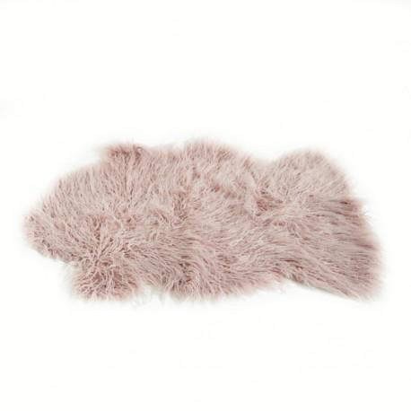 Faux Sheepskin Rug 60x90 cm - Pink