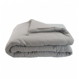Quilted Blanket 130x170 cm - Grey Jaipur