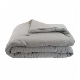Quilted Blanket 130x170 cm - Grey Jaipur