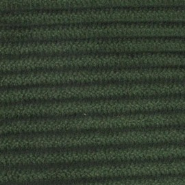 Thick ribbed velvet fabric - larch green x 10cm