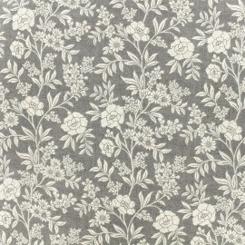 Makower UK cotton fabric - Grey Dream x 10cm