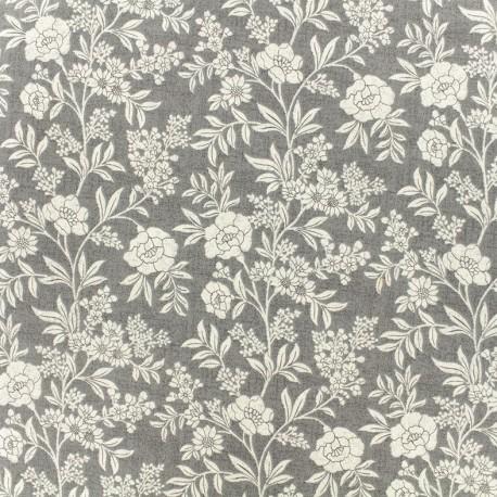 Makower UK cotton fabric - Grey Dream x 10cm