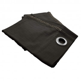 Curtain 150x260 cm - Black Portofino