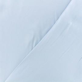 Tissu twill viscose - bleu ciel x 10 cm