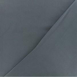 Tissu twill viscose - Gris bleu x 10 cm