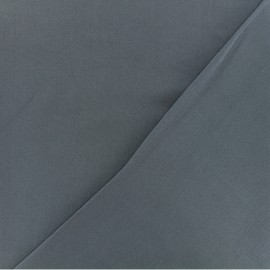 Twill viscose fabric - blue grey x 10 cm
