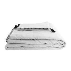 Quilted Blanket 90x190 cm - White Portofino