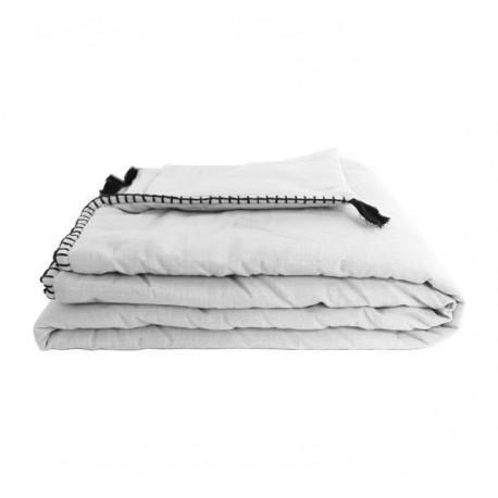 Plaid Matelassé Portofino 90x190 cm - Blanc