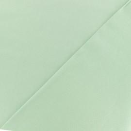 Tissu twill viscose - vert d'eau x 10 cm