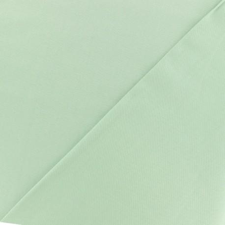Tissu viscose sergé - vert deau x 10 cm