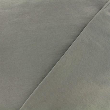 Tissu viscose sergé - gris x 10 cm