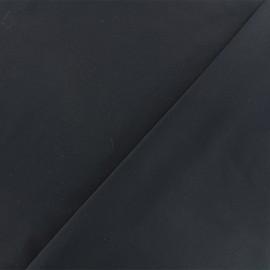 Tissu twill viscose - noir x 10 cm