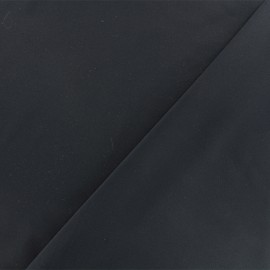 Twill viscose fabric - black x 10 cm