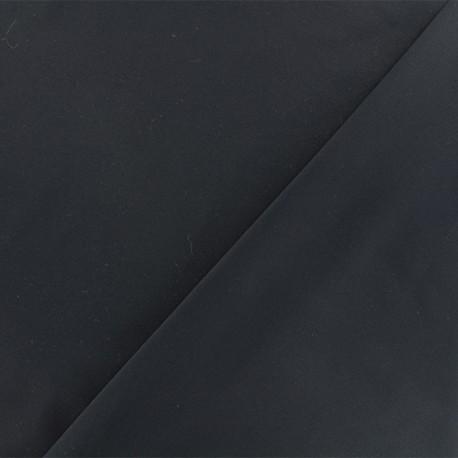 Tissu viscose sergé - noir x 10 cm