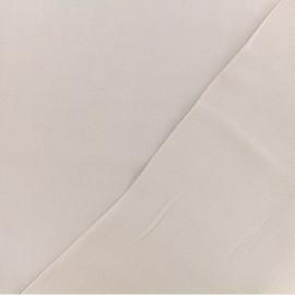 Tissu twill viscose - Taupe clair x 10 cm